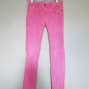 Free People Pink Corduroy Jeans, Size 30